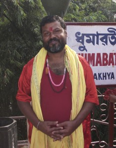 Dumavati Temple Priest