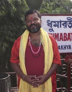 Dumavati Temple Priest