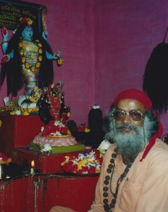 Tantracharya Swami Rudranath Giri Maharaj initiated the author in Bhairavi Kriya