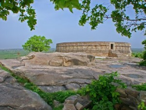 Ranipur-Jharial is an ancient temple to the 64 Yogini Goddesses