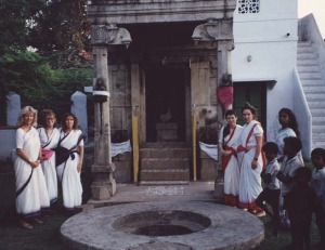 Ayyappa brought a number of international Pilgrims to Babaji's Birthplace over the years