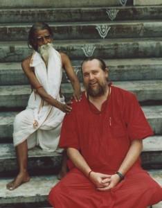Kriya Yogi Chandra Sekar and Swami Ayyappa Giri