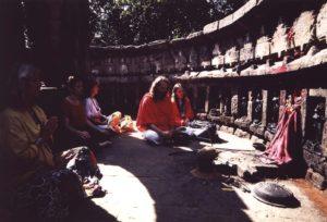 Performing Kali 64 Yogini Namavali
